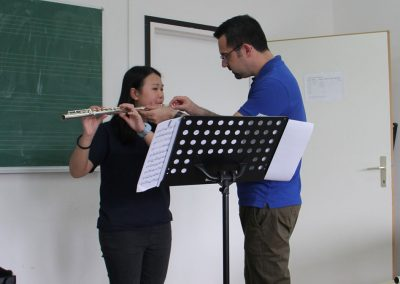 Work at the masterclass