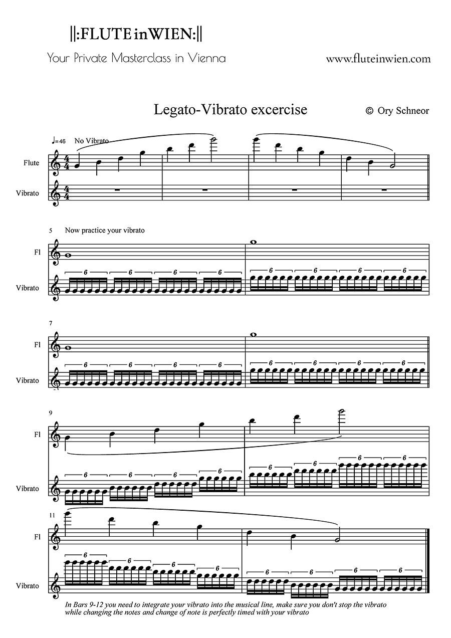 Legato-Vibrato Excercise