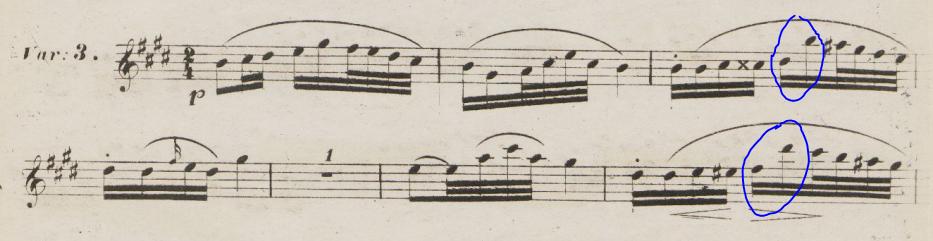Schubert Trocken Blümen variation 3