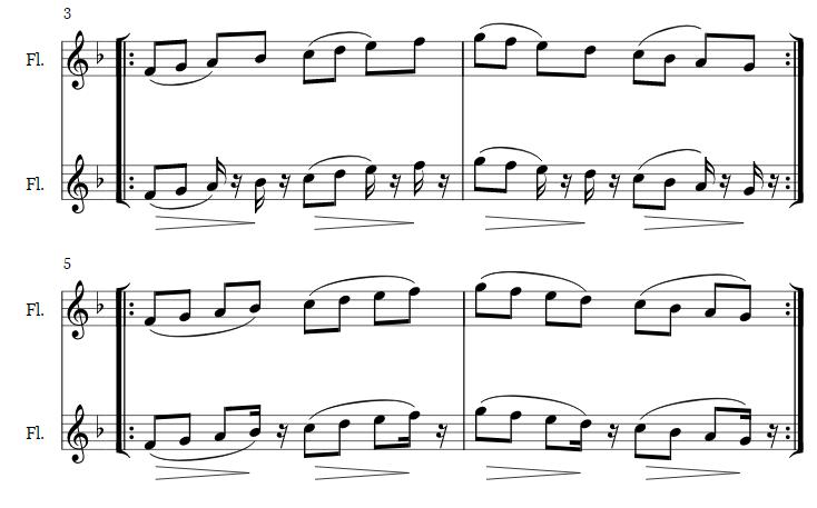 Baroque articulation scales