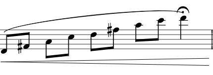 Increase Air Speed Arpeggio Exercise