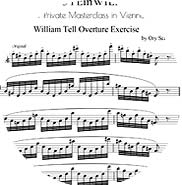 Download for FREE the full William Tell Overture exercise