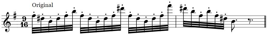 William Tell Overture Flute Excerpt original passage