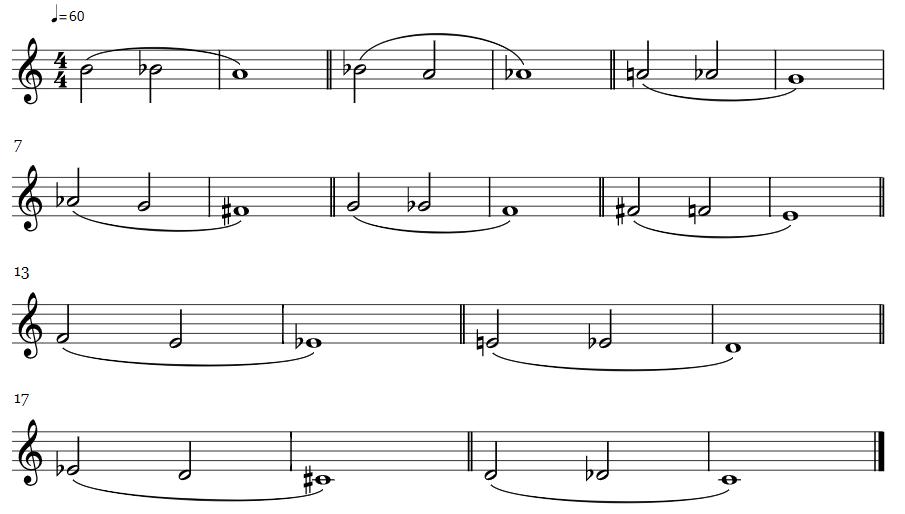 Active long tones