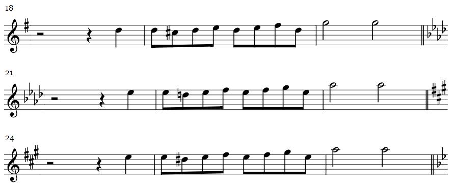 Rameau Rigaudon Exercise Example