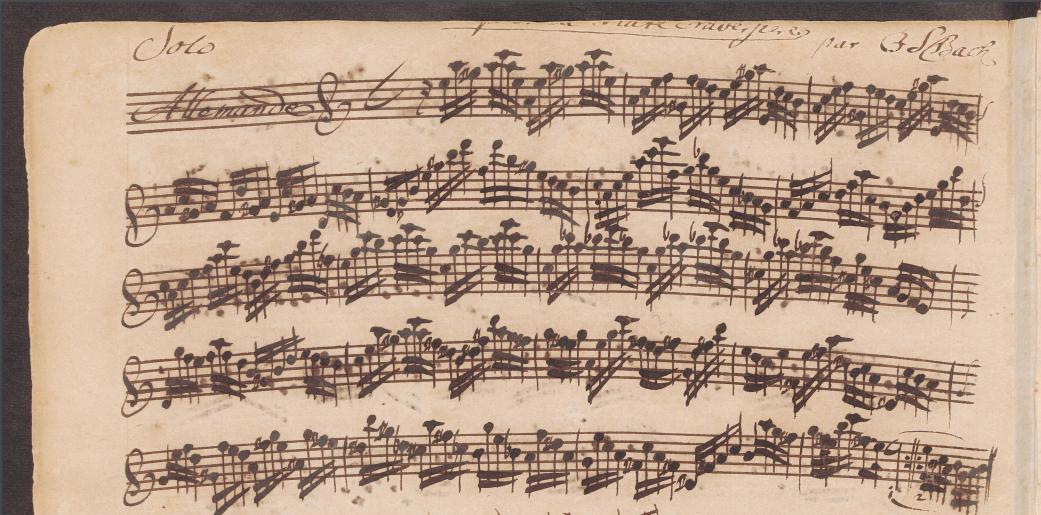 Bach Partita practical guide