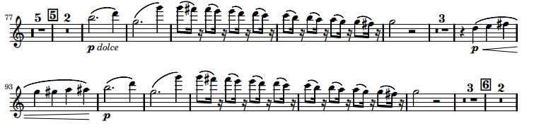 Rossini La Scala di Seta Excerpt