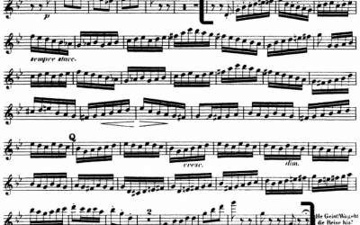 Mendelssohn Scherzo in one breath? You can do it too!
