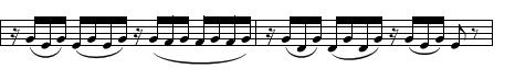 Mozart flute concerto second movement violas