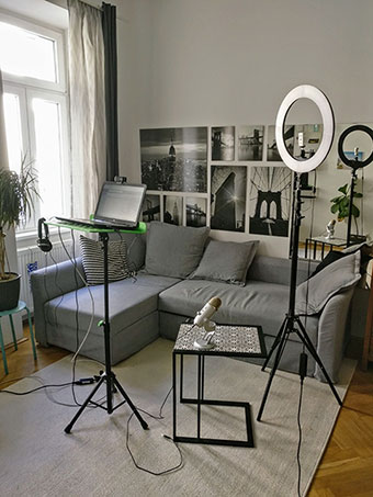 My professional home studio