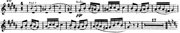 Dvorak 9th symphony second flute excerpt